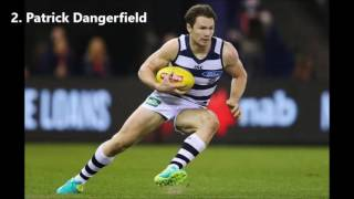 Top 10 AFL Players - 2017