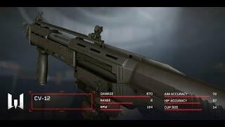 WARFACE КВ СтопХам.. VS Кр1сталл - НОВА DP-12