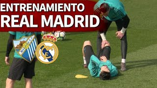 Málaga-Real Madrid | Entrenamiento previo del Madrid | Diario AS