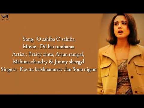 O Sahiba O Sahiba - Lirik Dan Terjemahan Indonesia