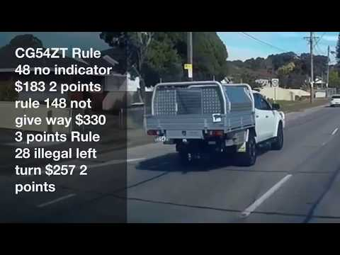 BAD DRIVING AUSTRALIA # 34 . phones , Horns , idiots & Submissions