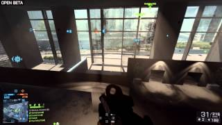 "Battlefield 4 - Баг Небоскреба\Skyscraper bug ""BETA"""