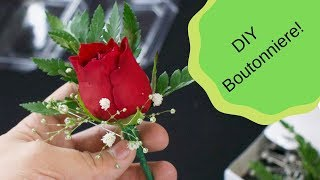 How to Make a Boutonniere!