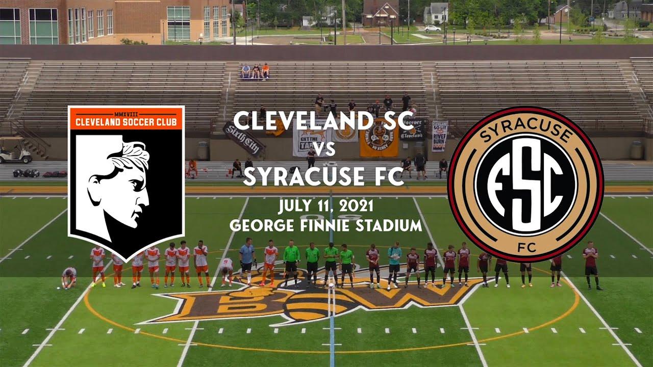 Cleveland SC vs Syracuse FC: Recap