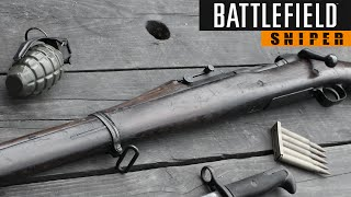 Battlefield 1 Sniper Hype - Gold M1903 Iron Sight Sniping (BFH Gameplay)