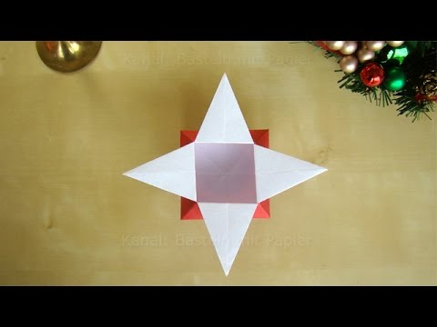 origami star box origami gift box christmas decoration. Black Bedroom Furniture Sets. Home Design Ideas