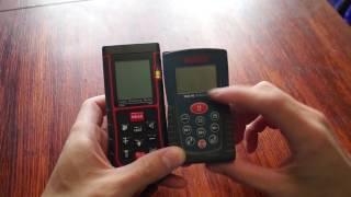 лучший дальномер с алиэкспресс обзор  тест и сравнение с Bosch DLE 40 professional