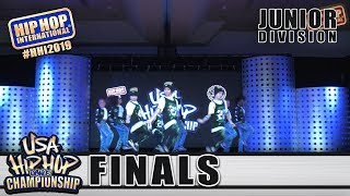LilPhunk - Boston, MA (1st Place Junior) at HHI's 2019 USA Hip Hop Dance Championship Finals