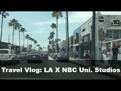 Travel Vlog: Los Angeles X NBC Universal