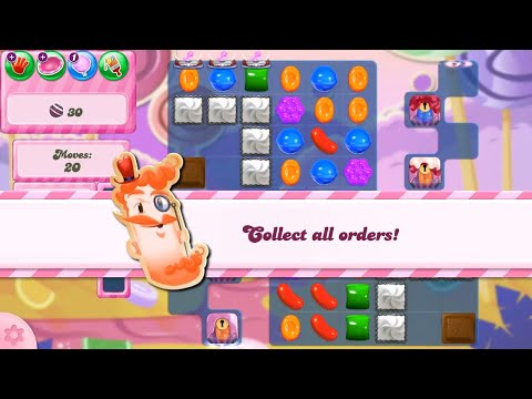 Candy Crush Saga Level 2814 NEW FORMAT no boosters