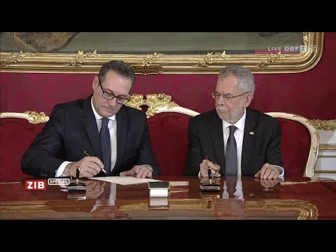 Angelobung der Bundesregierung - ZIB Spezial - 18.12.2017