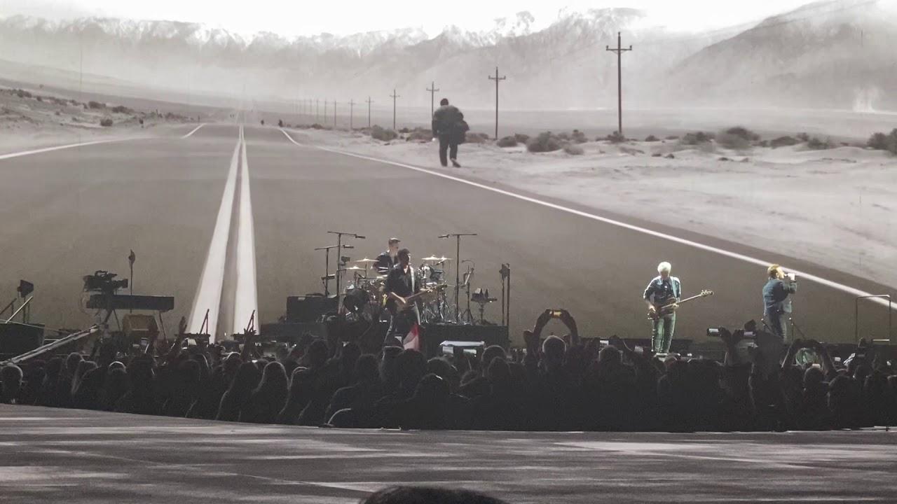 U2 Where The Streets Have No Name Saitama Super Arena Saitama Japan 2019 12 04