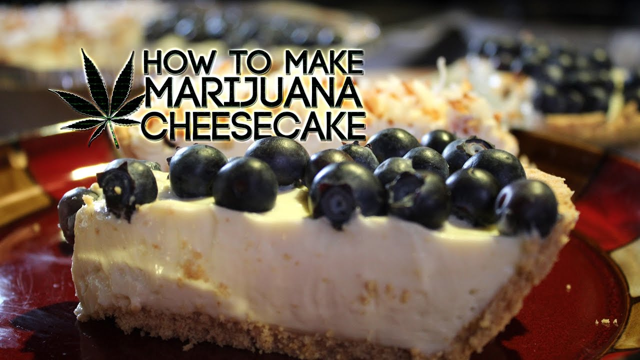 Space cake recipe with cannabutter