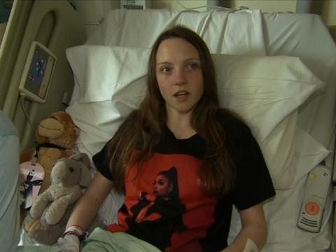 Young Manchester Survivor Describes Attack