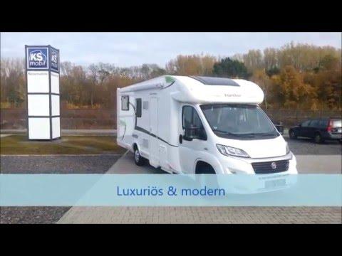 wohnmobil forster t 738 eb ksmobil youtube. Black Bedroom Furniture Sets. Home Design Ideas