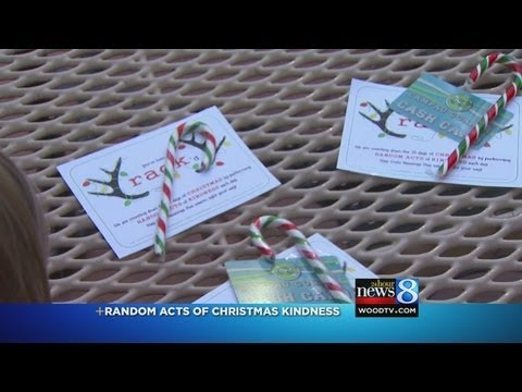 Small surprises spread Christmas cheer