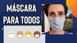 Máscaras pra gente se proteger! Agora é pra valer!