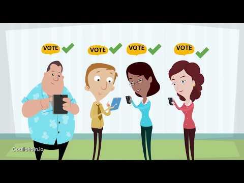 Online Digital Political Voting Platform  Blockchain ⛓️ Voting – Coalichain
