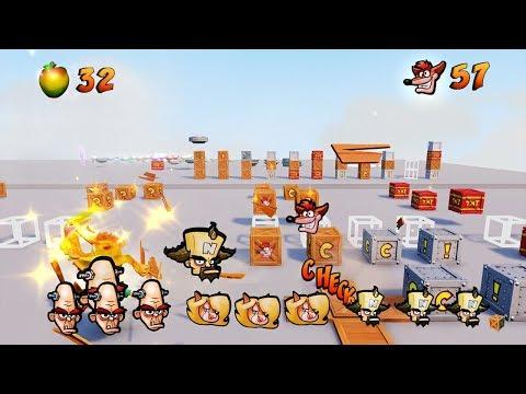 Crash Bandicoot: N. Sane Trilogy - Test levels + LightsOut
