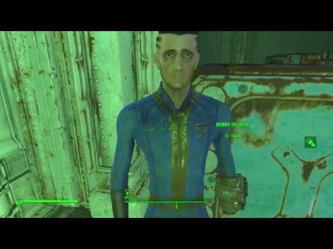 Fallout 4 (Hole In The Wall) Vault 81 HD