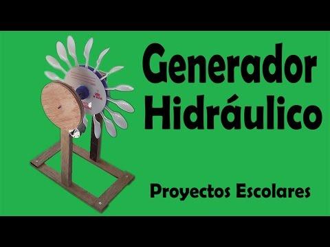 Proyectos - Generador Hidráulico De Energía Eléctrica (muy fácil de hacer)