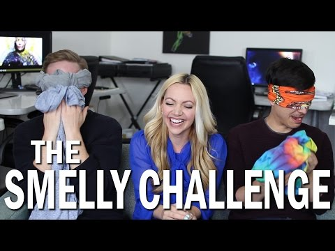 The Scientific Smelly Challenge ft. AskKimberly