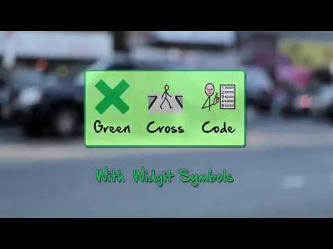 The Green Cross Code - With Widgit Symbols