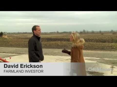 Dave Erickson - Investors flip farmland for cash, not crops CNN Money.mp4