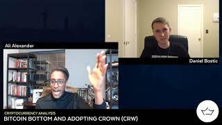 Ali Alexander & Daniel Bostic Introduce Crown