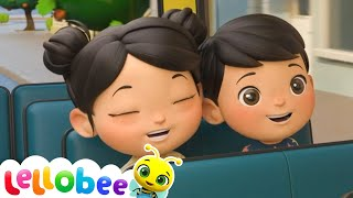 Going To School   @Lellobee City Farm - Cartoons & Kids Songs   Preschool Education