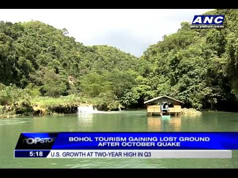 Bohol tourism after the earthquake