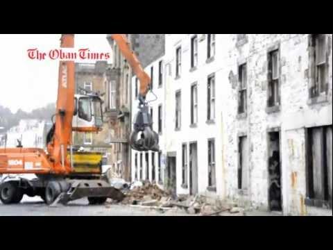 Argyll Hotel Oban Demolition December 30 2017