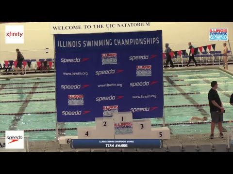 2018 Illinois Swimming Senior Short Course Championships Sunday Finals