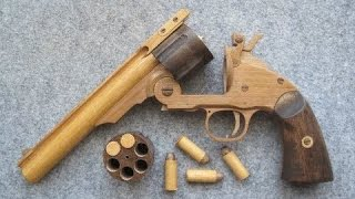 REV◎LVER RUBBER BAND GUN 01.0 S&W M3  [ Rubber Band Gun ]