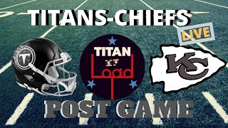 Kansas City Chiefs at Tennessee Titans Post Game Show