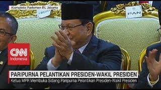 Pantun Ketua MPR Untuk Prabowo di Pelantikan Jokowi-Ma'ruf Amin