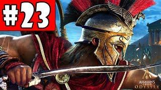 Assassin's Creed Odyssey - Walkthrough - Part 23 - The Athenian Treasure & One Man Army HD