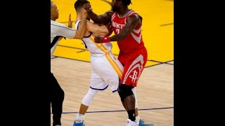 Warriors react to Stephen Curry-Patrick Beverley scuffle thumbnail