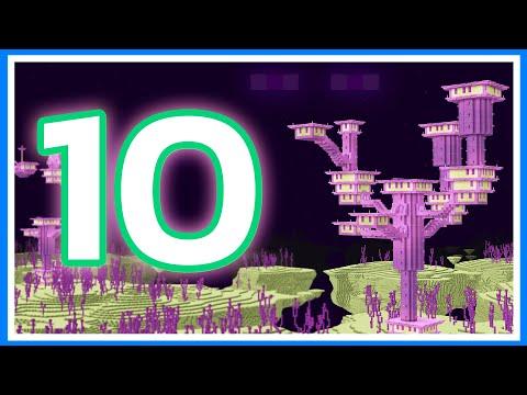 10 เรื่องน่ารู้เกี่ยวกับ ดิเอนด์ (The End Dimension) ในเกม Minecraft