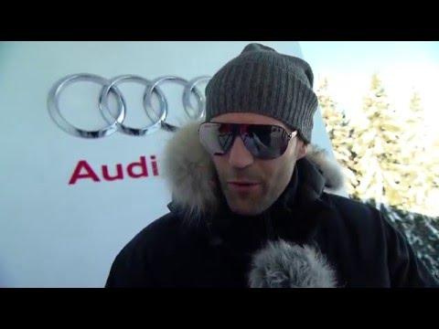 Kitzbühel 2016 - Interview with Jason Statham   AutoMotoTV