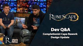 RuneScape Dev Q&A (Apr 2019) - Comp Cape Rework Design Update!
