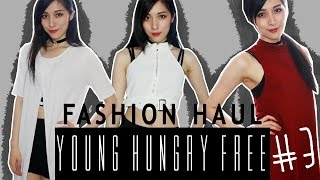 Simple Statements | Annchirisu × YOUNG HUNGRY FREE【Fashion Haul Review #3】