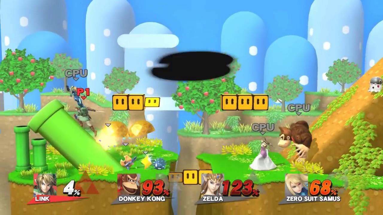 Super Smash Bros Wii U Primeiro Gameplay A 60fps Youtube