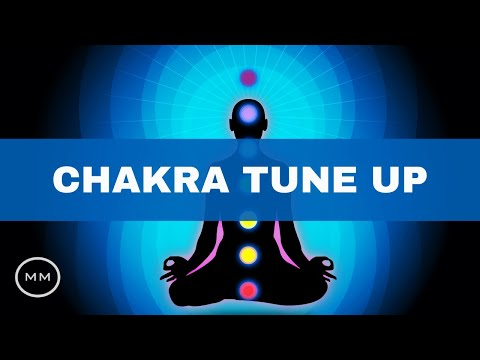 Chakra Tune-up - Root to Crown Chakra Healing (All 7 Chakra Frequencies) -  Meditation Music