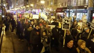 Trans-Led Protest Takes on Trump!