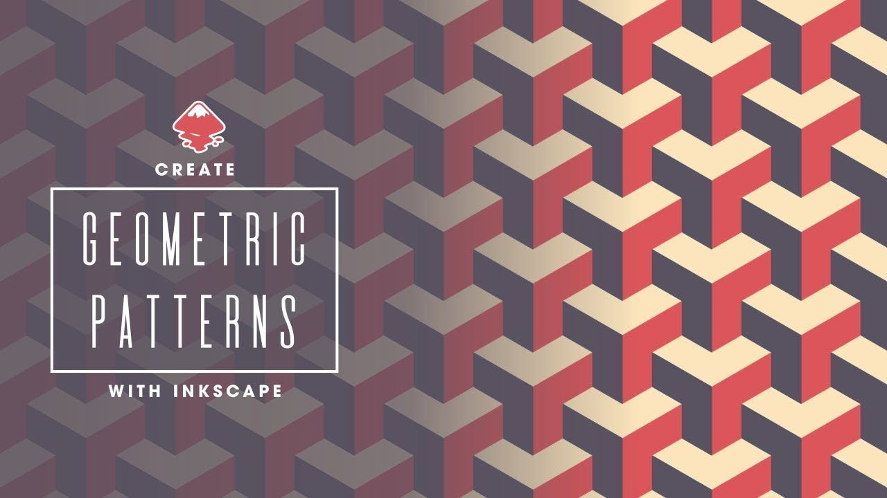 inkscape tutorial geometric pattern youtube