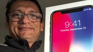 iPhone X unboxing, Face ID Fail, and Another Twist in the Tail