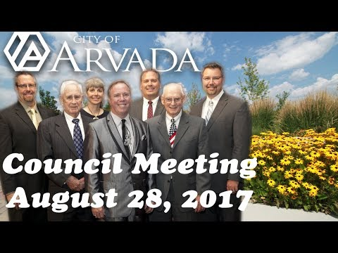 City Council Meeting - August 28, 2017