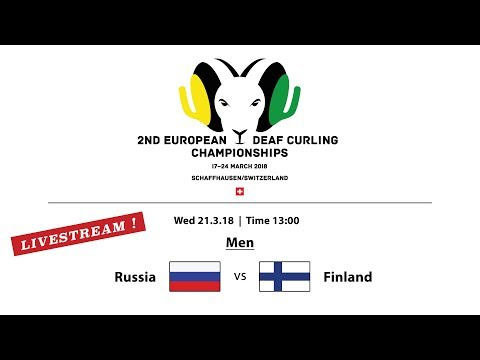 EC Deaf Curling 2018  |  Men RUS vs. FIN