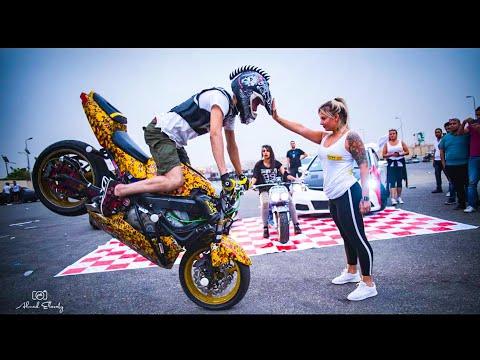 رامي صلد   وكارينا يقدمون عرض ممتع في ايفينت motor events hotel يشعل الجمهور